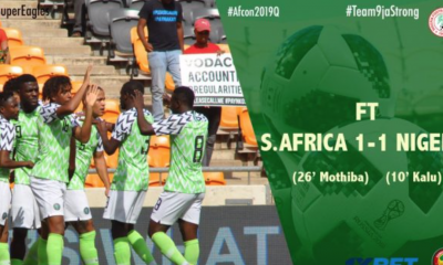 Just In! Super Eagles Qualify For AFCON 2019
