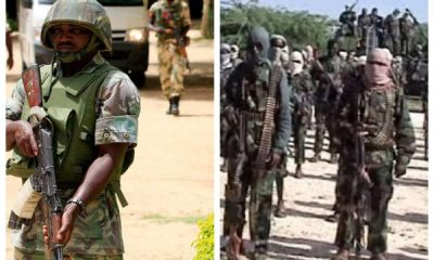 Son Of Nigerian Soldier Who Was Captured By Boko Haram Cries Out