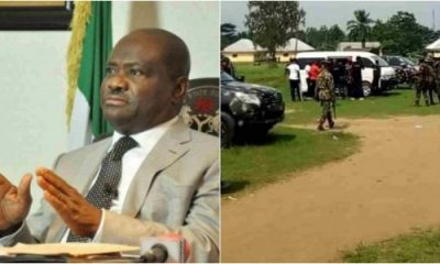 Wike Reacts As Army Uncovers 'Illegal Militia Training Camp In Rivers'