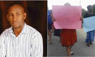 Women Protest Against An Alleged Child Rapist In Bonny Island, Rivers