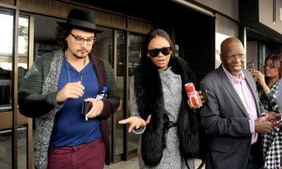 TV Personality, Bonang Matheba In Johannesburg Court Over Alleged Tax Fraud