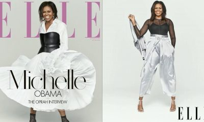 Michelle Obama Covers December's Issue Of Elle As She Opens Up To Oprah About Life After The White House
