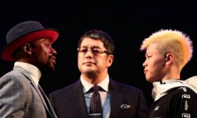 Nasukawa Vows To 'Take Down' Mayweather