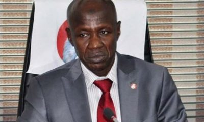 'I Never Attended President Buhari's Re-Election Gathering' - EFCC boss, Ibrahim Magu