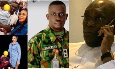 Atiku Admits He Didn't Call Late Col. Ibrahim Sakaba's Widow