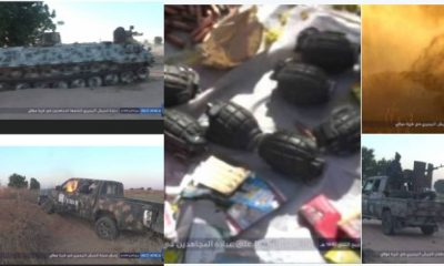 Boko Haram Allegedly Releases Photos Of 'Attack On Molai Community In Borno'