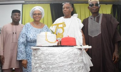 Toni Kan And Siblings Celebrate Dad At 75