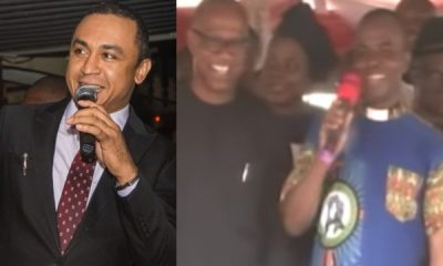 Daddy Freeze To Video Of Father Mbaka Disgracing Peter Obi For Not Donating