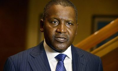 Our Priority Is To Create Job Opportunities For Nigerians – Aliko Dangote