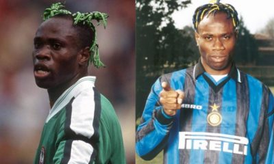 I Signed Slave Contracts At Auxerre, Inter Milan – Taribo West