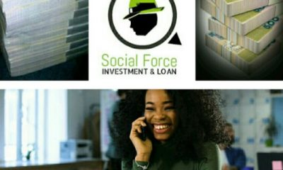 Invest & Earn As High As N200k OR Take A N20k Loan & Pay Just N3k Interest from Social Force