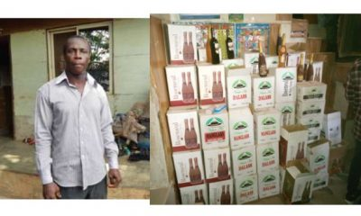 Illegal Factory Where Fake Wines Are Produced Busted In Lagos