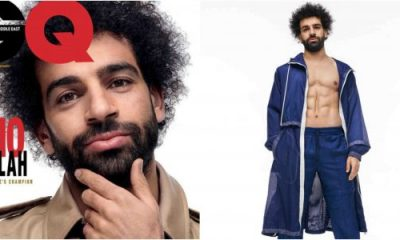 Mohamed Salah covers GQ Magazine, Middle East