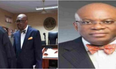 NBA President Paul Usoro, Arrives Court For Arraignment