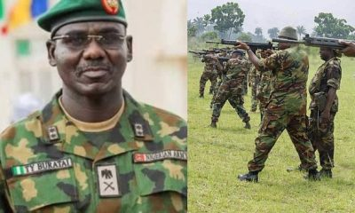 New Nigerian Army Uniform To Send Signal When Soldier Is In Danger