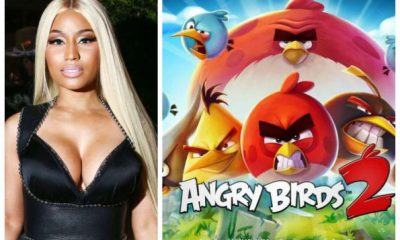 Nicki Minaj To Star In The Angry Birds Movie 2