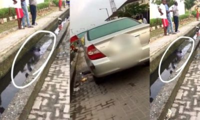 Man Murdered And Dumped In Gutter In Lekki