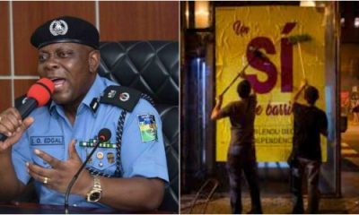 Police Ban Pasting Of Campaign Posters At Night