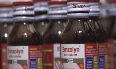Federal Government Recalls 2.5 Million Bottles Of Codeine