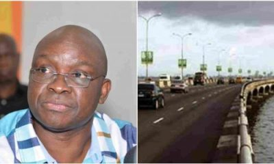 Fayose Involved In Accident On 3rd Mainland Bridge