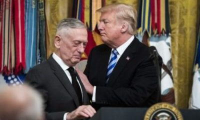 Trump's Defence Secretary General Mattis Quits