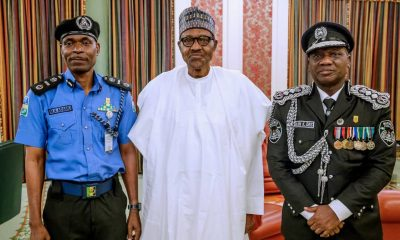 President Buhari Decorates Mohammed Adamu As Acting IGP