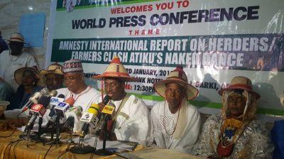 Miyetti Allah Asks Nigerians To Reject Atiku