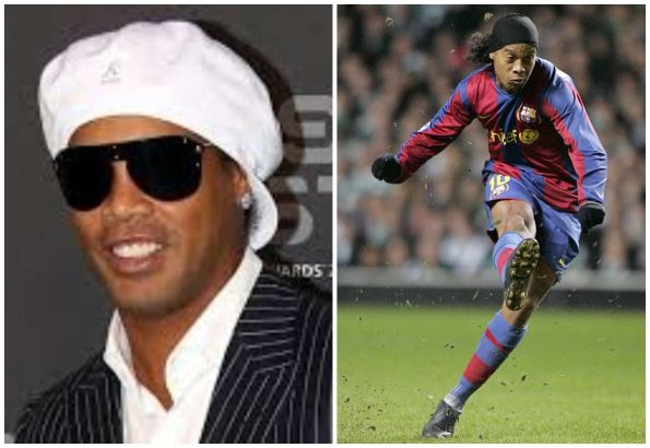 "Ronaldinho has been banned from leaving Brazil by a judge. The ex-Barcelona is scheduled to appear at the Dubai International Sports Conference this week. Ronaldinho banned from leaving Brazil over debt lailasnews The 38-year-old football legend has been barred from making the trip to the United Arab Emirates by a court in South America. Brazilian judge Newton Fabricio demanded that Ronaldinho and his brother Assis Moreira have their passports taken off them by authorities. The seizure order was made to guarantee the payment of a £1.75million fine imposed on the pair for breaking environmental construction regulations four years ago. They were prosecuted for causing damage to the environment in the building of the Ronaldinho Gaucho Institute in the Brazilian city of Porto Alegre. The charity helps work with young and impoverished people in the city and has been lauded for its work. But authorities are still demanding the fine be paid, and prosecutors say Ronaldinho and his brother have been impossible to pin down over the money. When the judge first ordered the passports should be seized in November, Ronaldinho was out of Brazil. And he continued travelling around the world before eventually returning to his home country for the Christmas period. Prosecutor Brasilino Pereira dos Santos said: ""It seems we are dealing with a situation where the guilty party is clearly mocking the law in front of Brazilian society and the world."" Prosecutors recently seized three luxury cars and a piece of art from the painter Andre Berardo from a house owned by Ronaldinho's family. They also claimed they only found five pounds in the former Barcelona star's bank account."