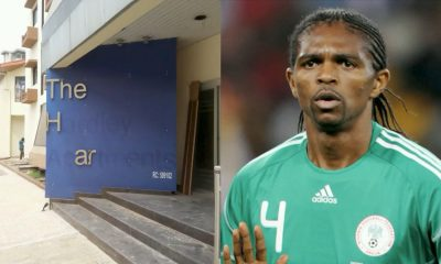 Kanu Nwankwo Cries Out As Vandals Cart Away His Medals