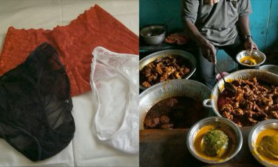 Robbers Allegedly Invade Lagos Amala Joint To Rob Women Of Their 'Pants'