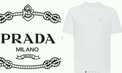 Photos: Outrage Over Prada Plain White T-Shirt Selling For N125,000