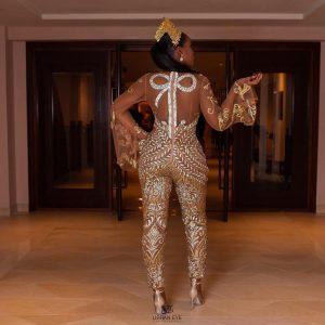 Renown Nigerian Designer Tope FnR Marries Her Prince Charming In Mordern Day Fairytale Wedding