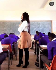 Debate On Social Media Over Curvy School Teacher Mode Of Dressing