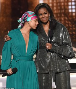 Michelle Obama Makes Surprise Appearance At The Grammys