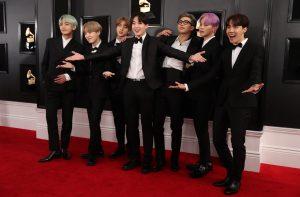 K-Pop sensations BTS all donned their own dapper takes on black tie attire