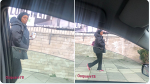 Former Petroleum Minister Alison Madueke Spotted On The Streets On London