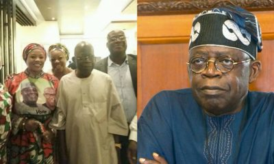 Tinubu Reacts To Viral Picture With PDP Members