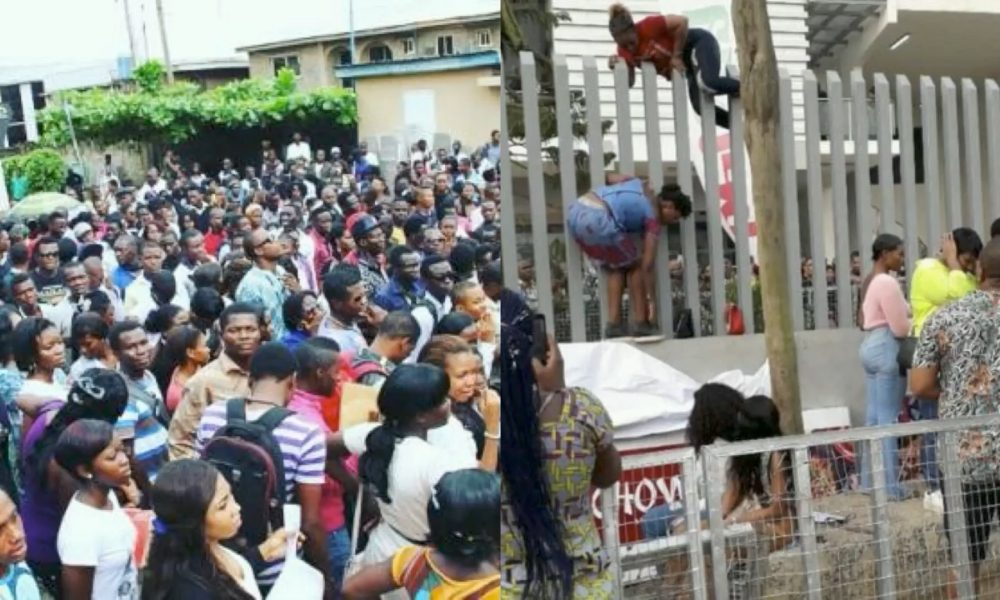 #BBNaija: Crazy Traffic, Many Scale Fences As Race To Win $100,000 For 2019's Show Begins