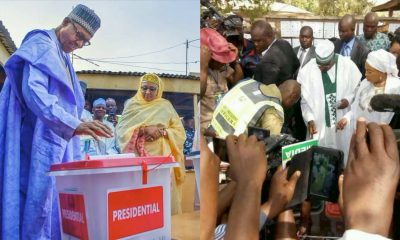 Buhari Wins His Polling Unit, Atiku Loses His
