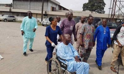 FG Offers Baba Suwe First Class Treatment In LUTH {Photos}
