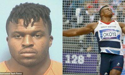 Ex Nigerian NFL Player Lawrence Okoye Arrested In Prostitution Sting In Alabama