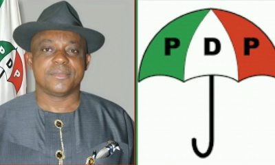 PDP Blows Hot Over Postponement Of General Elections, Calls For Resignation Of INEC Boss