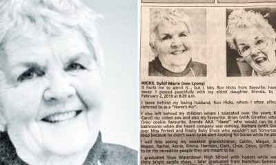 Grandma Says She Finally Has A 'Smoking Hot' Body In Interesting Obituary