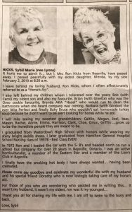 Grandma Says She Finally Has A 'Smoking Hot' Body In Interesting Obituary