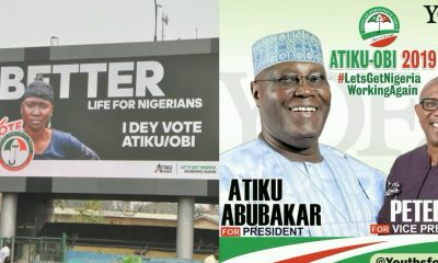 2019 Elections: Atiku Abubakar Steals Woman's Image For His Campaign Adverts Across The Country