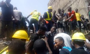 Many Feared Dead As School Building Collapses In Itafaaji, Lagos