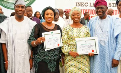Sanwo-Olu Receives Certificate Of Return
