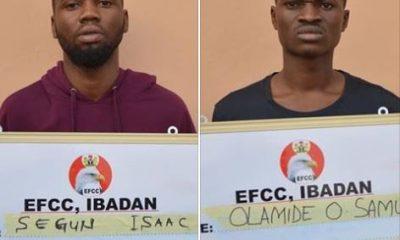 Three 'Yahoo Boys' Sentenced To Jail In Ibadan [PHOTO]