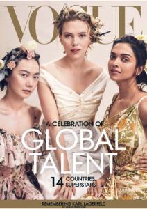 Adesua Etomi,Johansson, Deepika Padukone Grace Vogue's April 2019 Cover