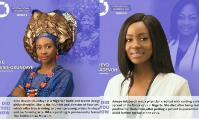 """I'm More Than A Feminist!""- Anto Lecky Says As She Pays Tribute To Renown Chioma Ajunwa, Chimamanda Adiche, Others For International Womens' Day"